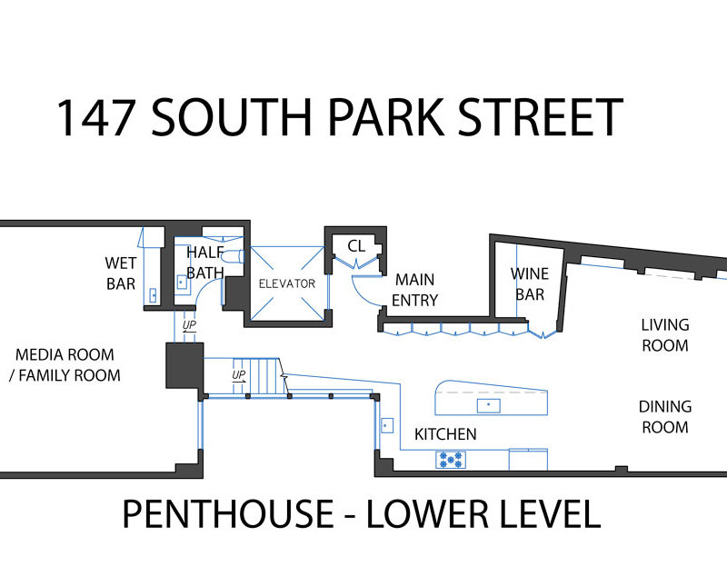 PENTHOUSE – FLOOR PLANS